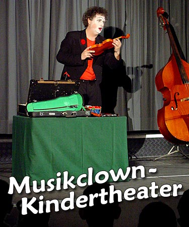 Musikclown-Kindertheater